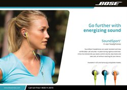 Bose deals in the New York weekly ad