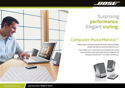 Electronics & Office Supplies offers in the Bose catalogue in Nashville TN ( 4 days left )