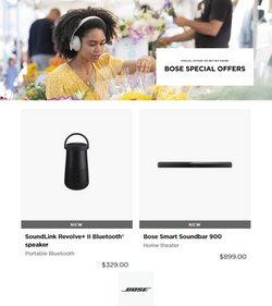 Electronics & Office Supplies deals in the Bose catalog ( Published today)