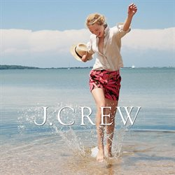 J Crew catalog ( More than a month)