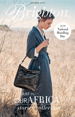 Handbag deals in the Brighton Collectibles weekly ad in New York
