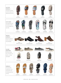 Heels deals in the Brighton Collectibles weekly ad in New York