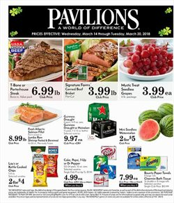 Grocery & Drug deals in the Pavilions weekly ad in Daly City CA
