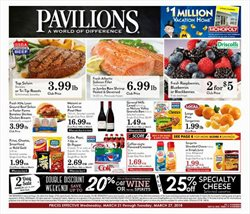 Pavilions deals in the Vancouver WA weekly ad