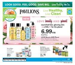 Dishwashing detergent deals in the Pavilions weekly ad in Los Angeles CA