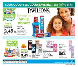 Pharmaceutical products deals in the Pavilions weekly ad in Kent WA