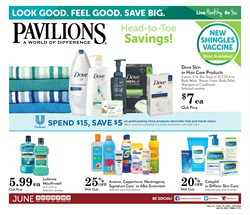 Soap deals in the Pavilions weekly ad in Whittier CA
