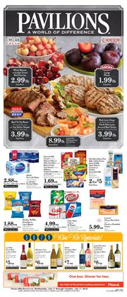 Pavilions deals in the San Diego CA weekly ad