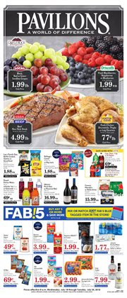 Barbecue deals in the Pavilions weekly ad in Modesto CA