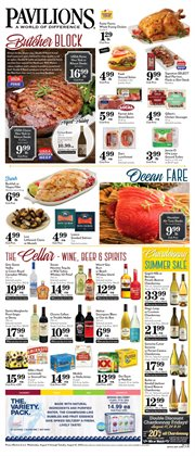 Wine deals in the Pavilions weekly ad in San Jose CA