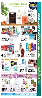Hair conditioner deals in the Pavilions weekly ad in Concord CA