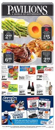 Grocery & Drug deals in the Pavilions weekly ad in Redding CA
