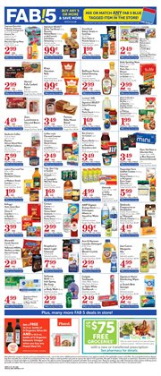 Bleach deals in the Pavilions weekly ad in Redding CA