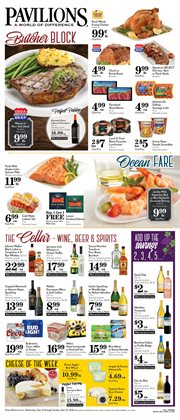 Wine deals in the Pavilions weekly ad in Concord CA