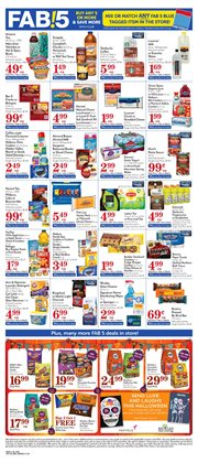 Milk deals in the Pavilions weekly ad in Van Nuys CA