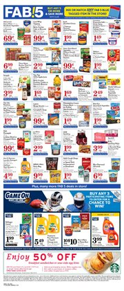 Milk deals in the Pavilions weekly ad in Reseda CA