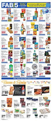 Cleaning products deals in the Pavilions weekly ad in Yorba Linda CA