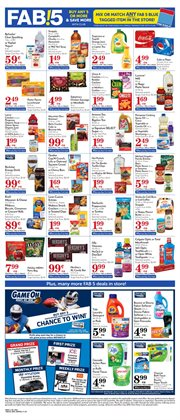 Pepsi deals in the Pavilions weekly ad in Dallas TX
