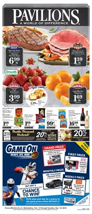 New deals in the Pavilions weekly ad in Van Nuys CA