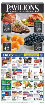 Water deals in the Pavilions weekly ad in San Jose CA