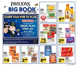 Grocery & Drug deals in the Pavilions weekly ad in San Francisco CA