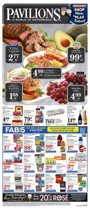 Pavilions deals in the Berkeley CA weekly ad