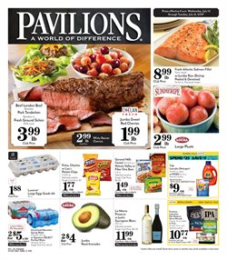 Pavilions deals in the Bakersfield CA weekly ad