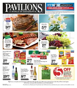 Grocery & Drug offers in the Pavilions catalogue in San Luis Obispo CA ( Expires today )