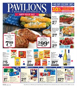 Pavilions catalogue ( Expires tomorrow )