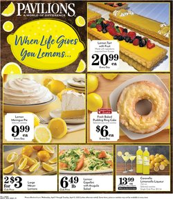 Grocery & Drug offers in the Pavilions catalogue in San Francisco CA ( 3 days left )