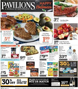 Grocery & Drug deals in the Pavilions catalog ( Published today)