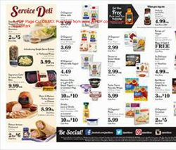 Pizza deals in the Pavilions weekly ad in Sterling VA