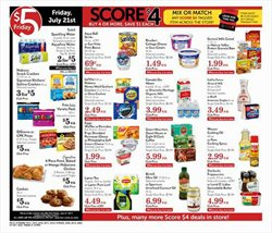 Oil deals in the Pavilions weekly ad in Dallas TX