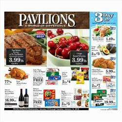 Pavilions deals in the Houston TX weekly ad