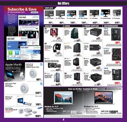IPad deals in the Micro Center weekly ad in New York
