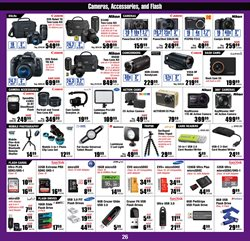 Photo camera deals in the Micro Center weekly ad in Kennesaw GA