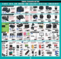 Canon deals in the Micro Center weekly ad in New York