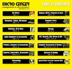 Printer deals in the Micro Center weekly ad in Huntington Beach CA