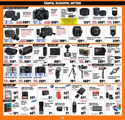 Photo camera deals in the Micro Center weekly ad in Woodstock GA