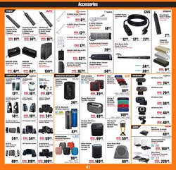 Sound system deals in the Micro Center weekly ad in New York