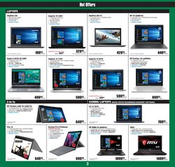 Keyboard deals in the Micro Center weekly ad in New York