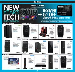 HP deals in the Micro Center weekly ad in New York
