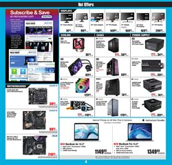 MacBook Pro deals in the Micro Center weekly ad in New York