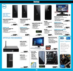 DELL deals in the Micro Center weekly ad in New York
