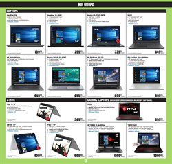 Laptop deals in the Micro Center weekly ad in New York