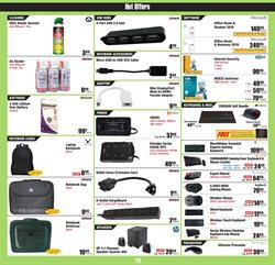 Speakers deals in the Micro Center weekly ad in New York