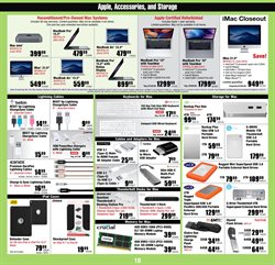Chargers deals in the Micro Center weekly ad in New York