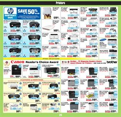 Brother deals in the Micro Center weekly ad in New York