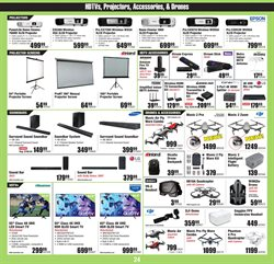 Smart tv deals in the Micro Center weekly ad in New York