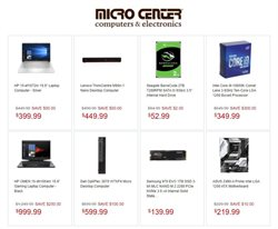Micro Center catalogue ( Expires tomorrow )